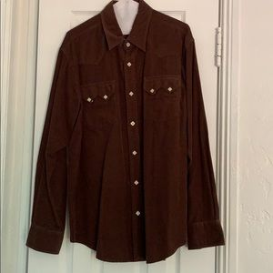 Lucky Brand Corduroy Button Down